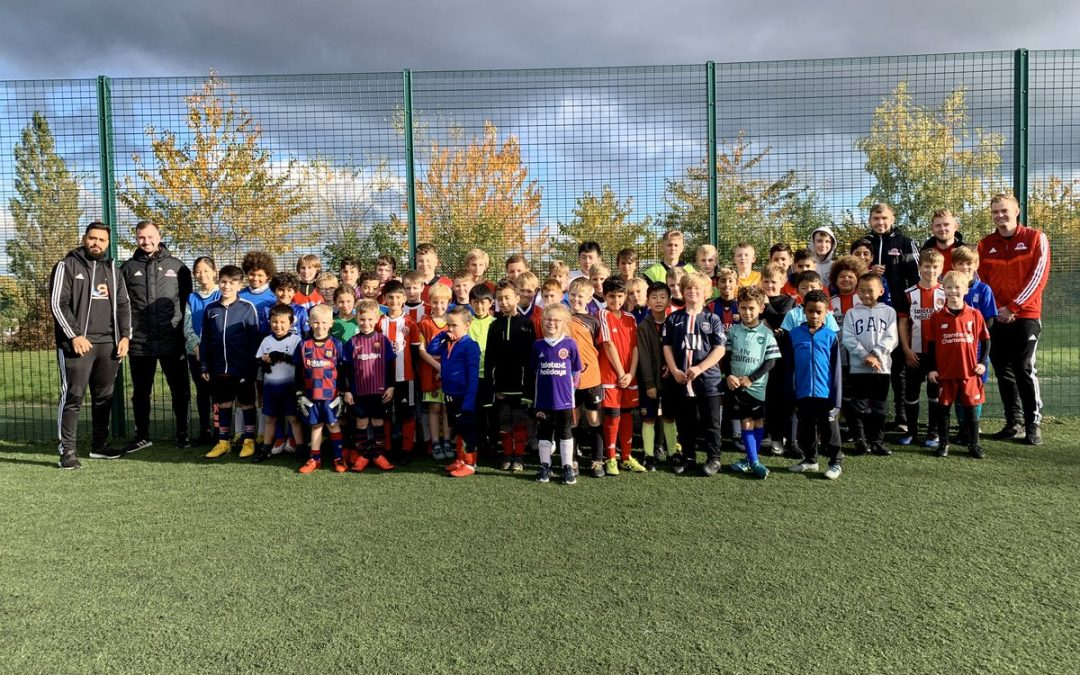 Sheffield United Crookes football camps celebrate record attendance