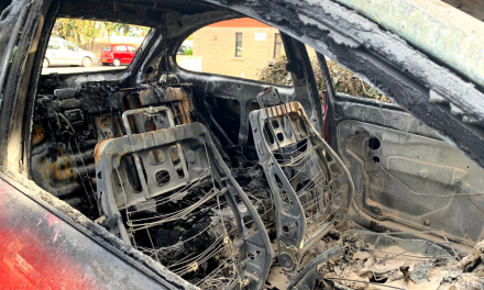 """I would've been trapped"": Neighbours' close call with Walkley car blaze"