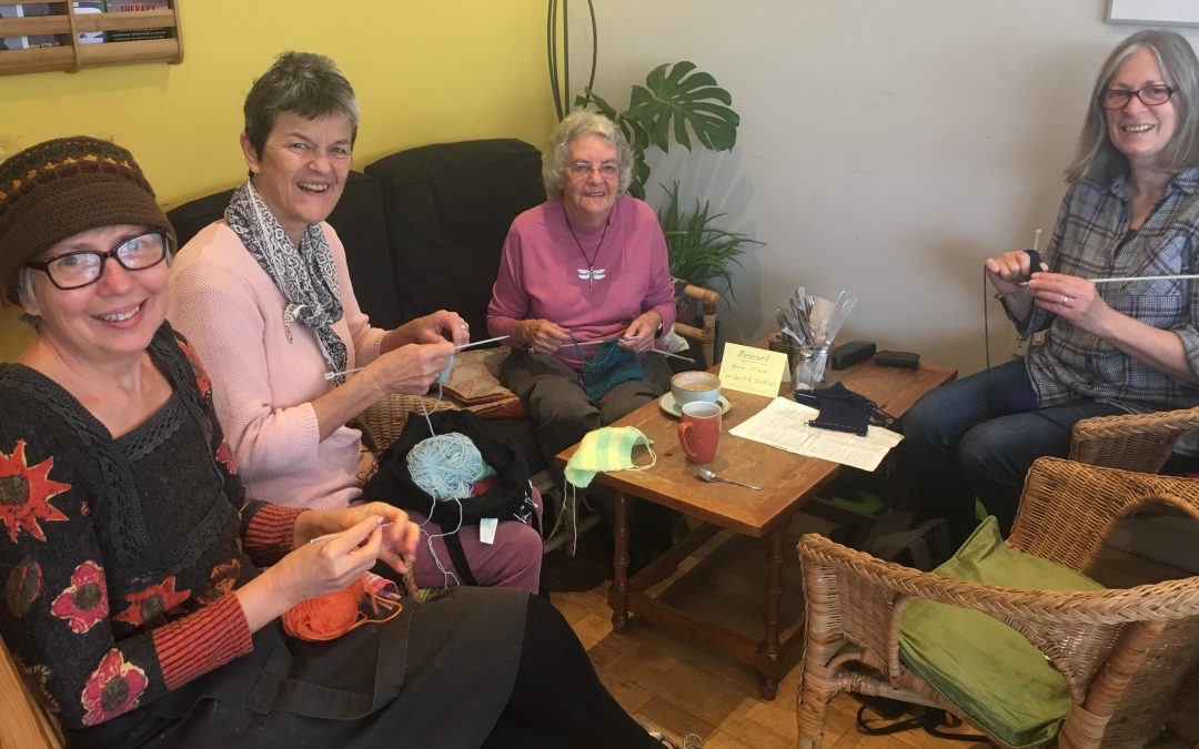 Knitting group helping Crookes residents overcome mental health barriers