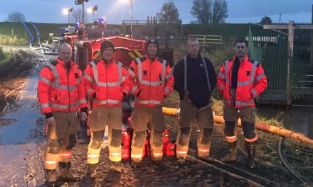 Manchester fire crew deployed after flood fears continue
