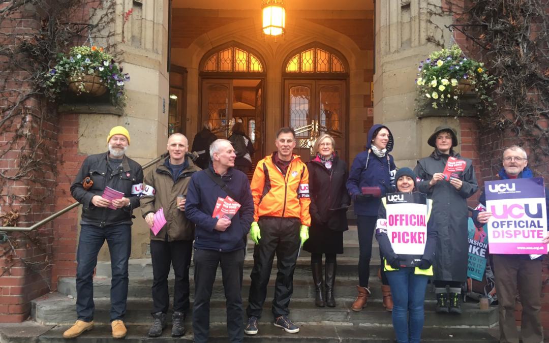 University faces disruption as industrial action commences