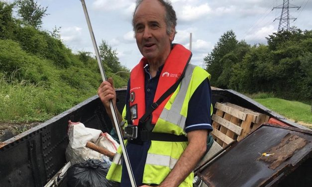 Litter picking helps Fulwood man with health issues get back on track